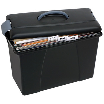 Crystalfile® Carry Case Black 8008602