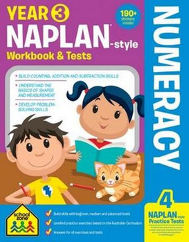 NAPLAN - Style Numeracy Year 3 Workbook And Tests By: Louise Park