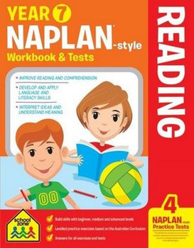 NAPLAN - Style Reading Year 7 Workbook and Tests