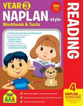 NAPLAN - Style Reading Year 3 Workbook And Tests By: Louise Park