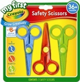 Crayola My First 3 Safety Scissors