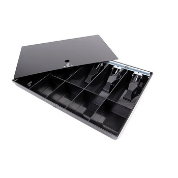Esselte Cash Tray 10 Compatments Black
