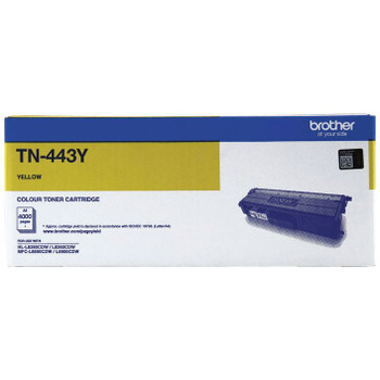 Brother TN-443 Toner Cartridge Yellow