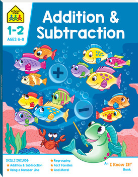 School Zone Addition & Subtraction (ages 6-8)