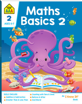 School Zone Maths Basics 2 (ages 6-8)
