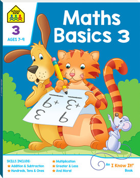 School Zone Maths Basics 3 (ages 7-9)