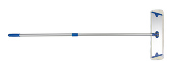 Cleanlink Microfibre Flat Mop 45cm With 135cm Telescopic Handle Blue