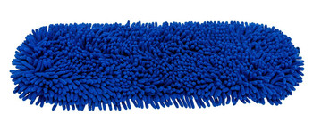 Cleanlink Chenille Dust Mop 60cm With 135cm Aluminium Handle Blue