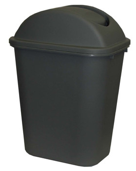 Cleanlink Dustbin With Lid 36 Litre Grey