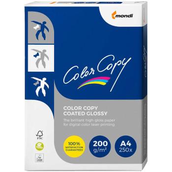 Colour Copy 200gsm A4 Gloss Copy Paper 250 Sheet Pack