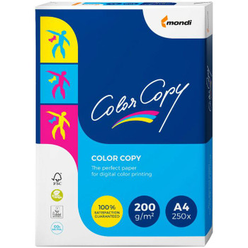 Colour Copy A4 Digital Paper 200gsm 250 Sheet Pack
