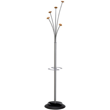 Alba Festival Coat Rack Silver / Wood