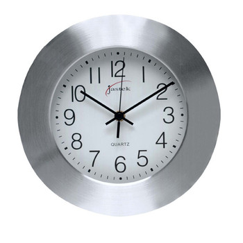 Carven Clock 250mm Aluminum