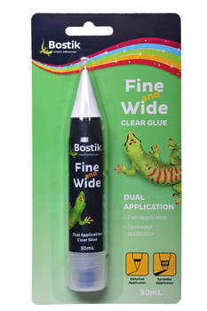 Bostik Fine and Wide Glue Pen 30mL