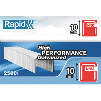 Rapid Tools Staples 53/10mm BX2500