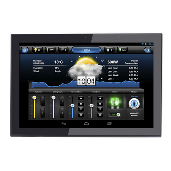 "ARKIN TOUCH 10"" POE UNIVERSAL TOUCH SCREEN WTH WALL MOUNT BLACK"