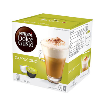 Nescafe Dolce Gusto Cappuccino Capsules 16 Pack