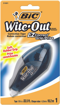 Bic Without EZ Correct Grip Correction Tape