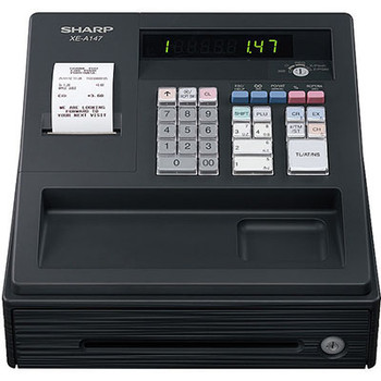 Sharp XEA147BK Cash Register
