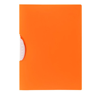 Marbig Swing Clip File A4 Orange