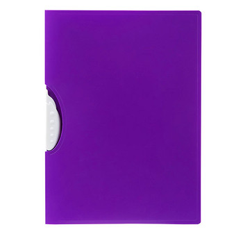 Marbig Swing Clip File A4 Purple
