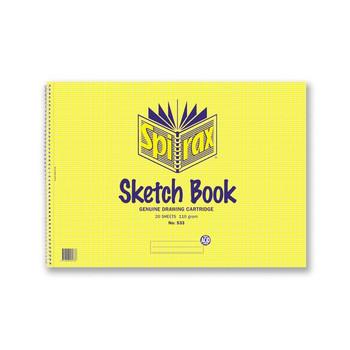 Spirax Sketch Book No.533 20 Leaf 297X420mm A3