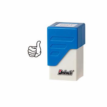 Deskmate Pre-Inked Emoji Stamp Thumbs Up