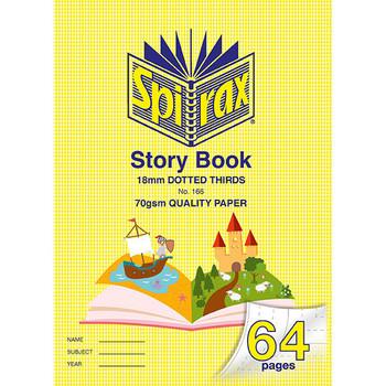 Spirax 166 Story Book 335X240mm 64 Page 18mm Dot Third