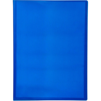 AVERY 49112 DISPLAY BOOK SOFT COVER A4 20 POCKET BLUE