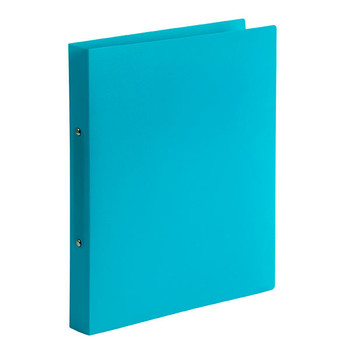 Marbig Soft Cover 2 Ring Binder A4 Marine Blue Pack of 6