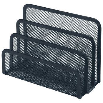 Esselte 47549 Mesh Vertical Sorter Black