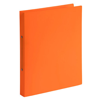 Marbig Soft Cover 2 Ring Binder A4 Orange Pack of 6