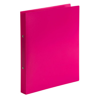 Marbig Soft Cover 2 Ring Binder A4 Pink Pack of 6
