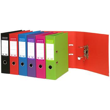 Colourhide Lever Arch File PE A4 Red