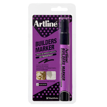 Artline Builders Marker Hangsell Black
