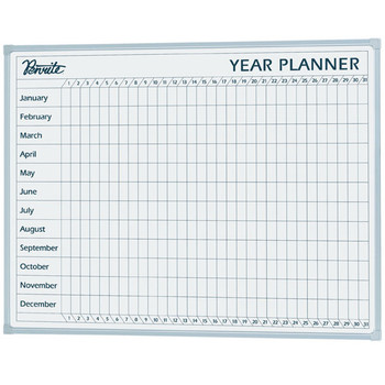 QUARTET PENRITE Year Planner Board 600X900mm