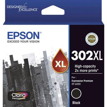Epson 302XL Premium Ink Cartridge Black