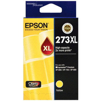 Epson 273XL High Capacity Ink Cartridge Yellow