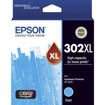Epson 302XL Premium Ink Cartridge Cyan