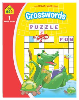 School Zone Get Ready Crosswords Age 4-6