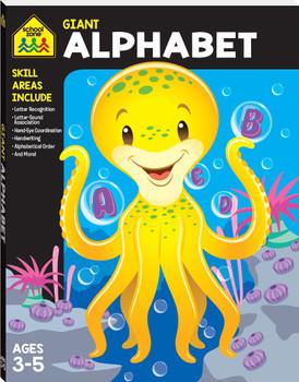 School Zone Giant Workbook Alphabet Ages 3-5
