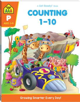 School Zone Counting 1-10 Ages 3-5