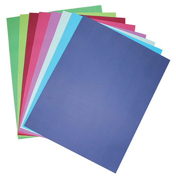 Colourful Days Colourboard 200gsm A4 210 X 297mm Assorted Colour 50 Pack