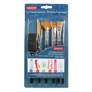 Derwent Technique Brush Set 6