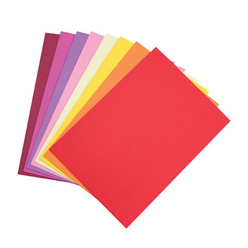 Colourful Days Colourboard 200gsmA3 297 X 420mm Assorted Warm 50 Pack