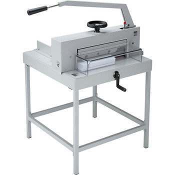 Ideal 4705 Powerful Manual Guillotine + Stand