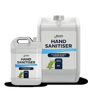 Bostik 30615269 Medical Liquid Hand Sanitiser 5L Jerry Can