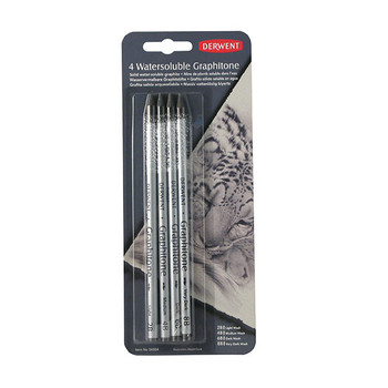 Derwent Graphitone Pencil Assorted PK4