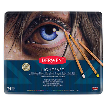 Derwent Lightfast Pencils Tin 24