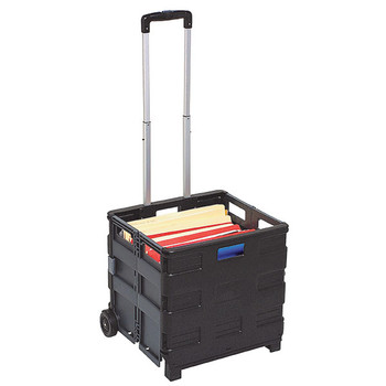 Marbig Collapsible Storage Trolley 430X460X80mm